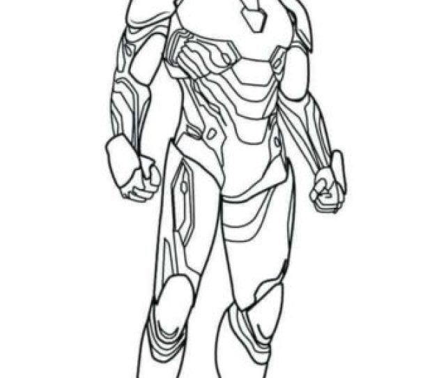 Free Iron Man Coloring Pages Printable