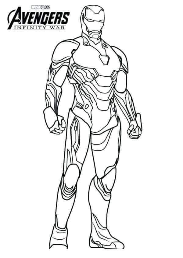 Coloring Pages Iron Super Kins Author