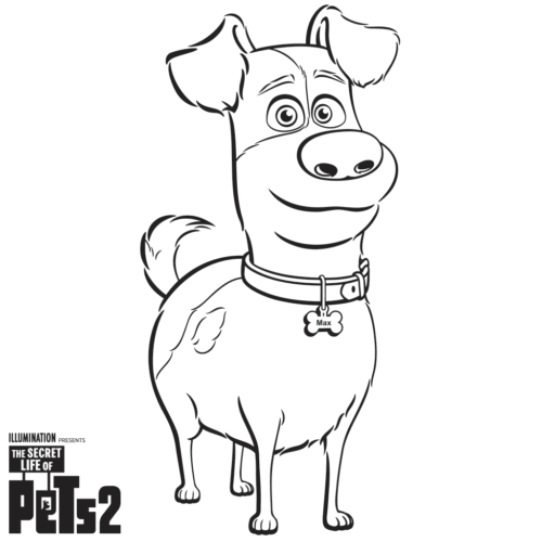 Free The Secret Life Of Pets 2 Coloring Pages Printable