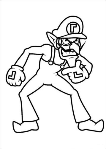 36 Free Mario Coloring Pages Printable