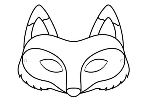 35 Free Fox Coloring Pages Printable