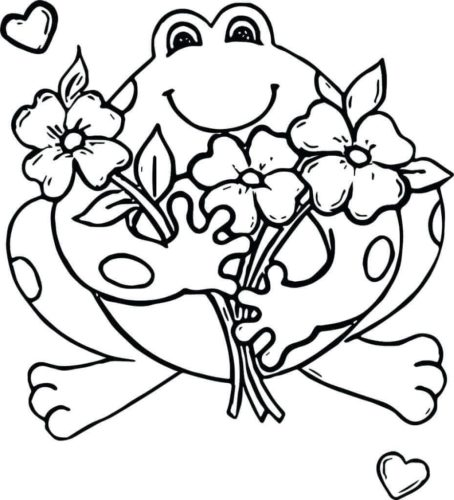 35 Free Frog Coloring Pages Printable