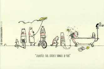 Sus scrofa Bankus - the young piggy bank gang
