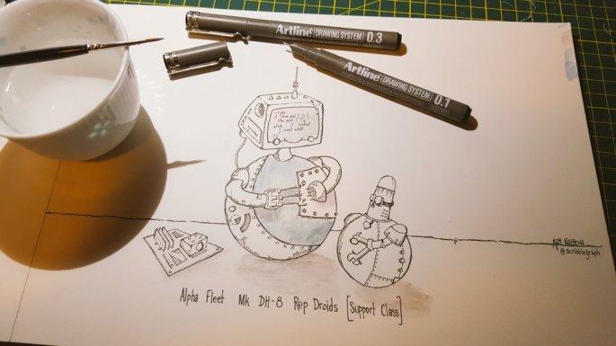 DH-8 illustration