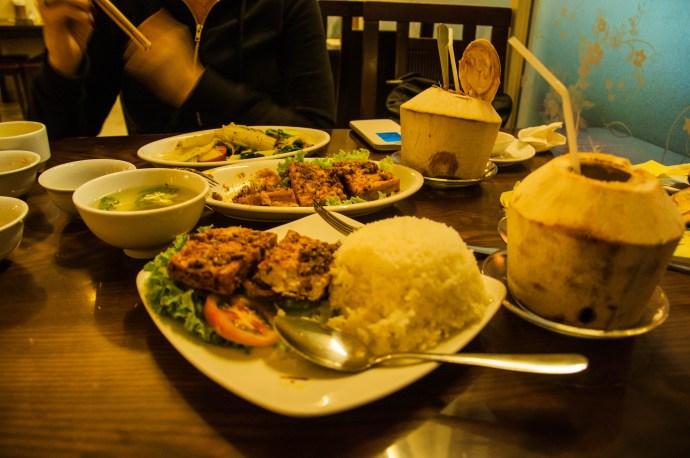 Ridiculously cheap vegetarian food in Da Lat