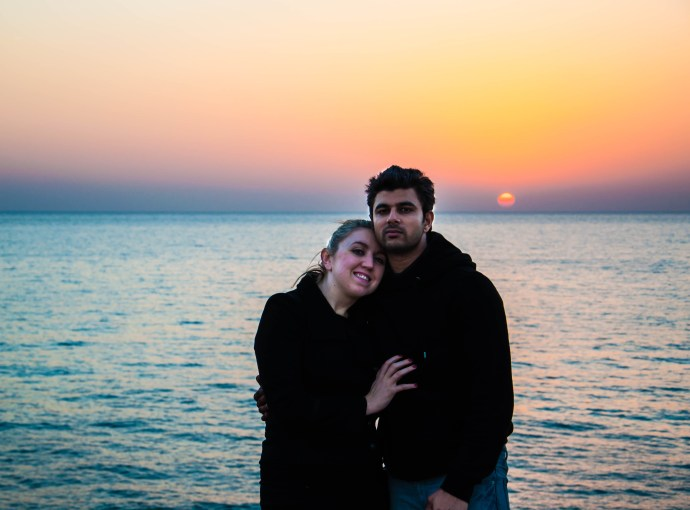 Ankit and I in Cyprus last Christmas