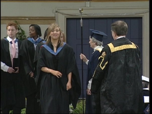 Me graduating from the University of Leicester. One of my proudest moments.