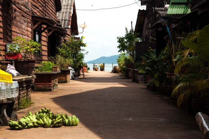 Streets of Koh Lanta's old town