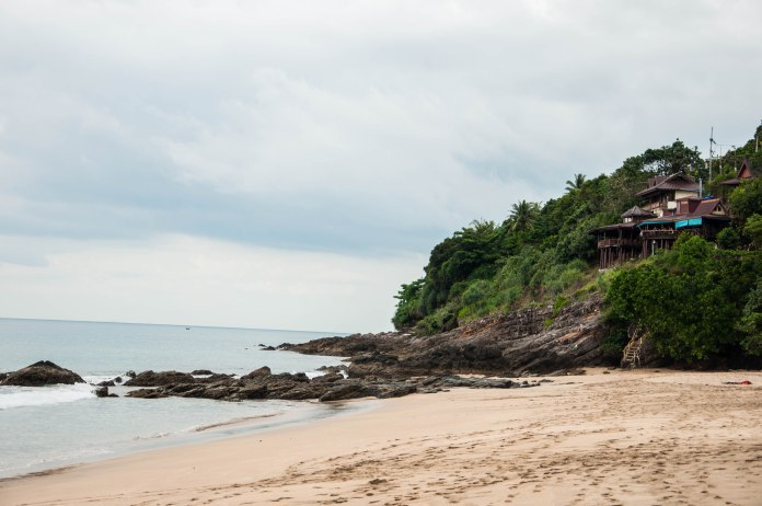 A secluded beach in Koh Lanta