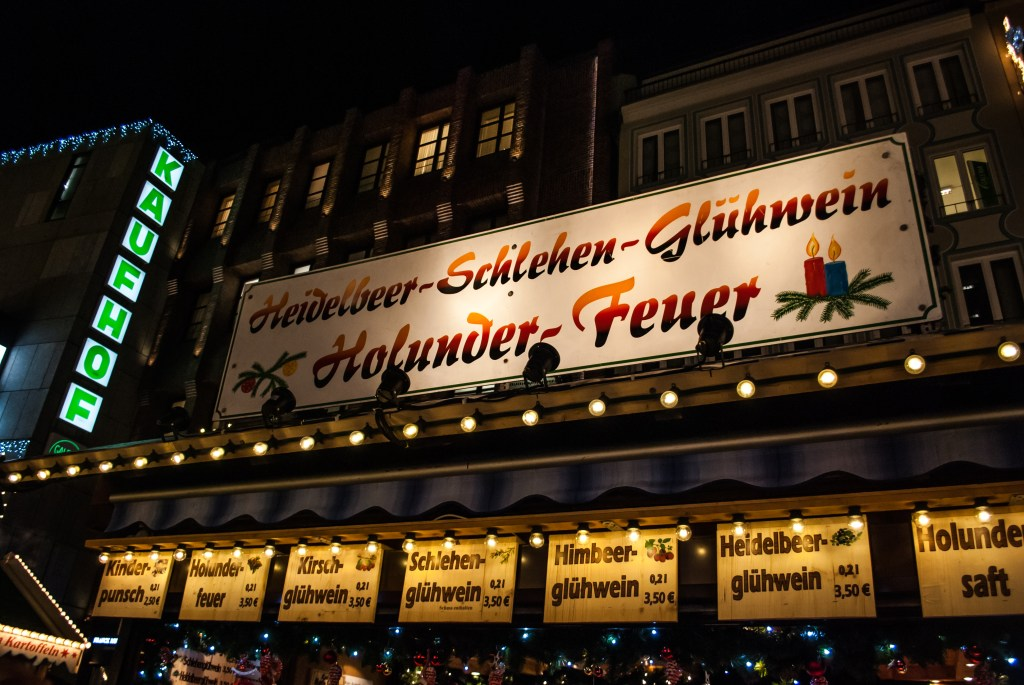 The glühwein stand that I got my fix from