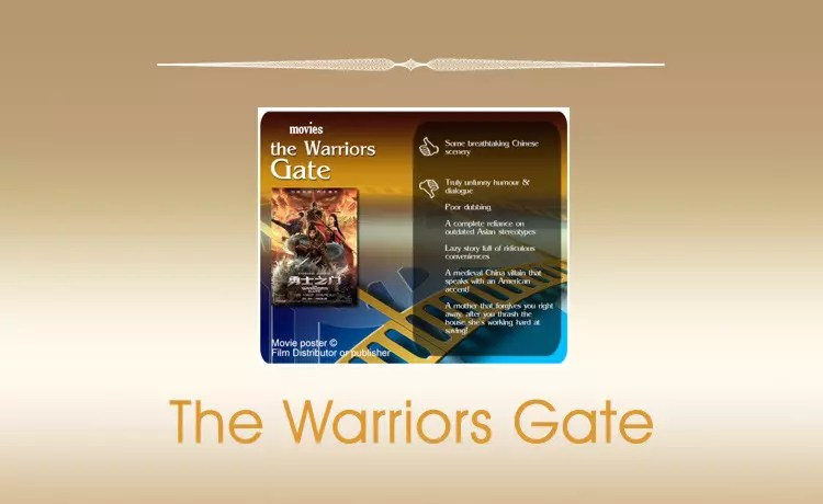 The Warriors Gate review