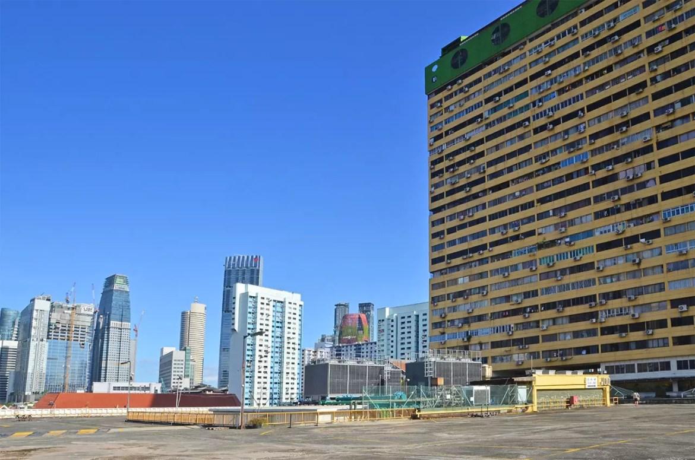 People's Park Complex Rooftop Carpark