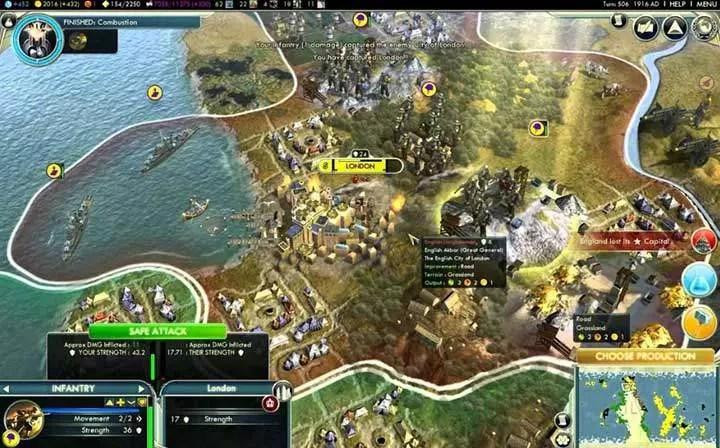 Civilization IV Screenshot.