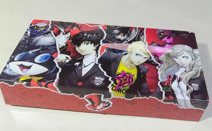 Persona 5 Take Your Heart Edition inner box design