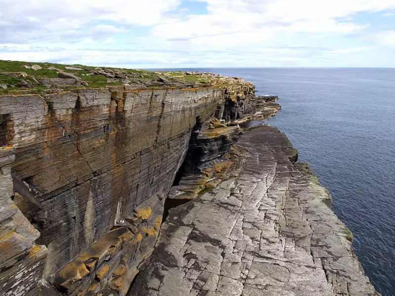 Uncharted 4 Scotland Locations in Real Life: North Sea Cliffs