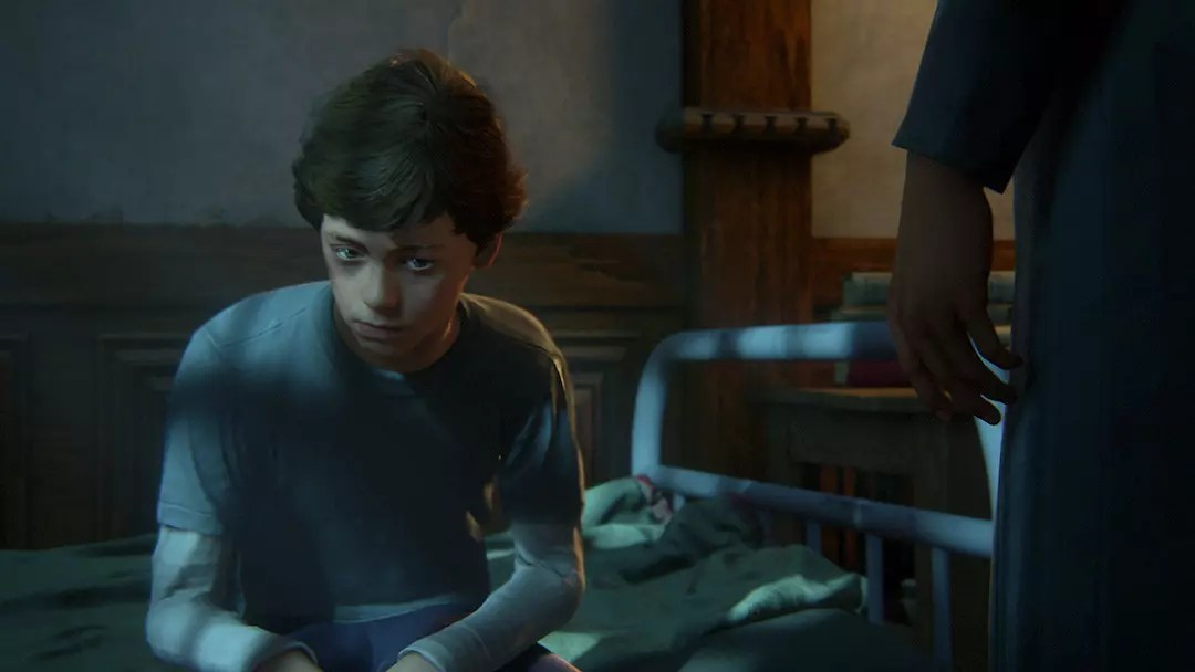 Young Nathan Drake in Uncharted 4.