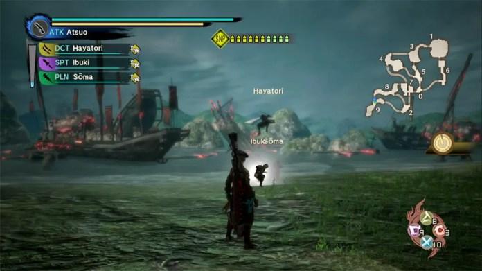 Toukiden Kiwami Dan-no-Ura Battle.