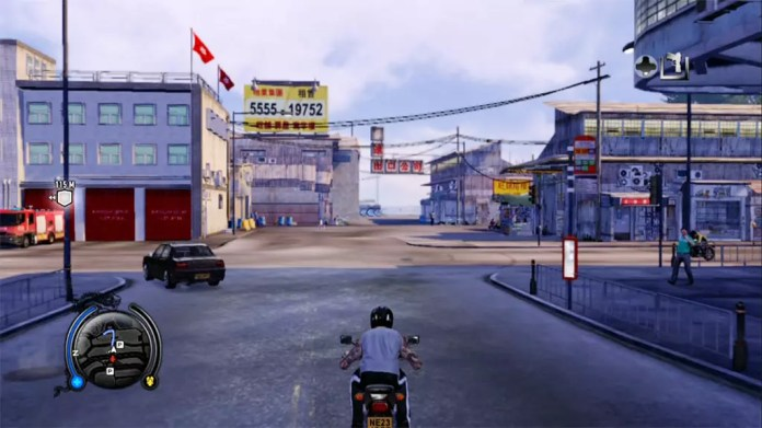 Sleeping Dogs North Point Day Driving Screenshot