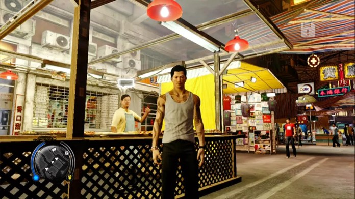 Sleeping Dogs North Point Night Market with Wei Shen