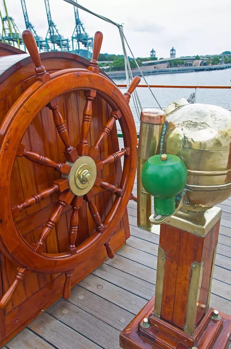 Nautical Steering Wheel.
