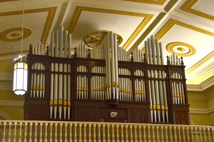 Cathedral of the Good Shepherd Pipe Organ.