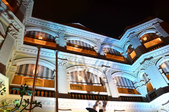 Singapore Night Festival at the Peranakan Museum.