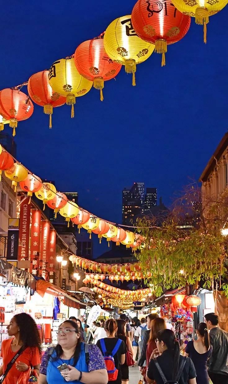 Pagoda Street Chinatown, Singapore.