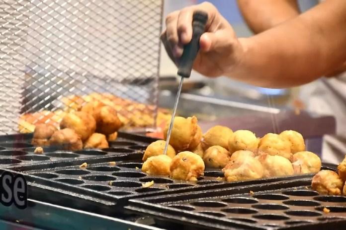 Japanese Takoyaki in Singapore.