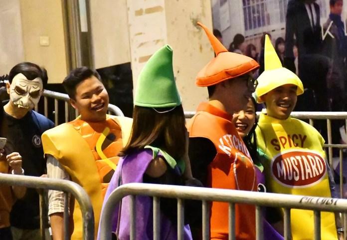 Halloween Procession, Hong Kong.