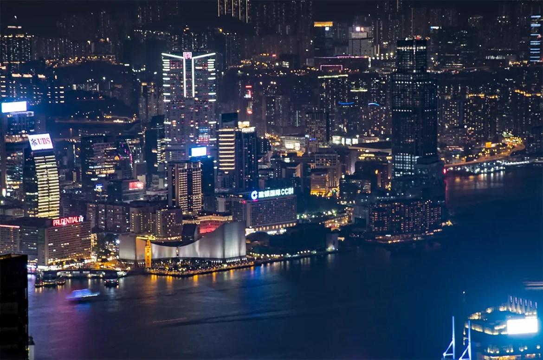 Victoria Peak Kowloon view