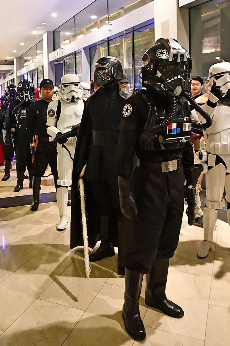 Star Wars in Singapore (Marina Bay Sands)