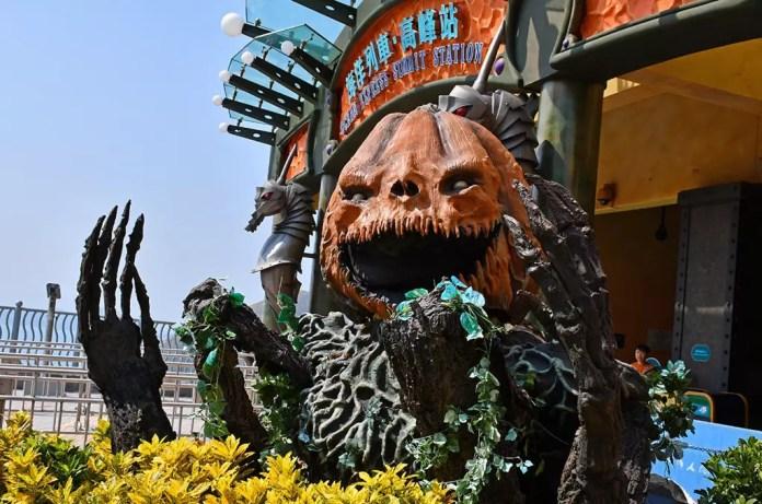 Hong Kong Halloween Adventure at Ocean Park.