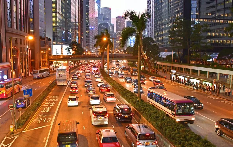 Gloucester Road, Hong Kong