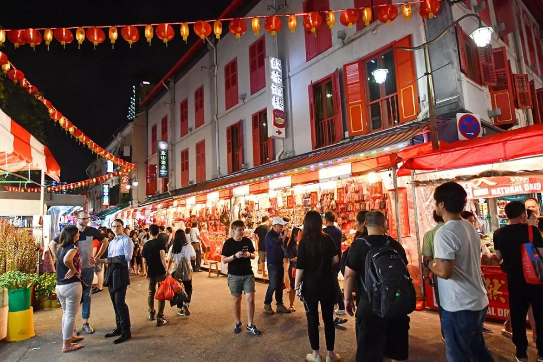 Chinatown Chinese New Year Street Market 2018