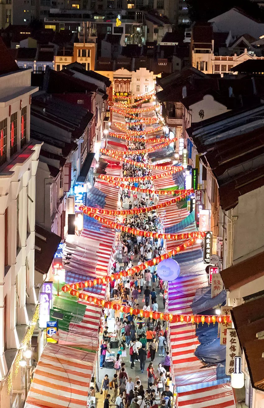 Chinatown Lunar New Year Light-up 2018
