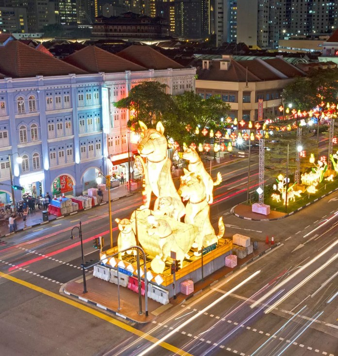 Singapore Chinatown Light-up 2018.