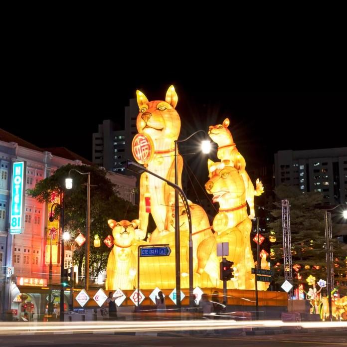 Chinatown Chinese New Year Light-up 2018