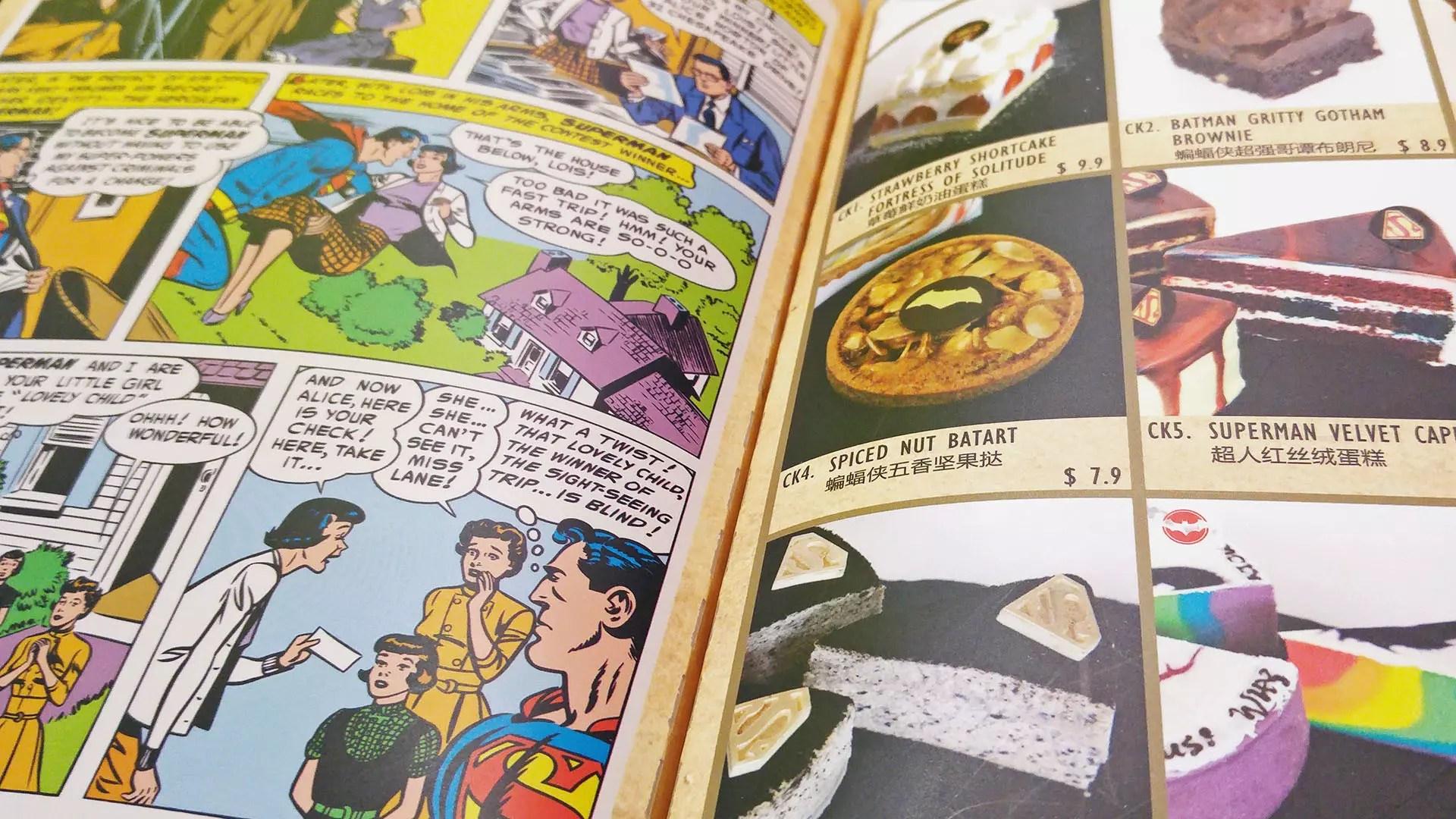 DC Super Heroes Cafe Takashimaya Review