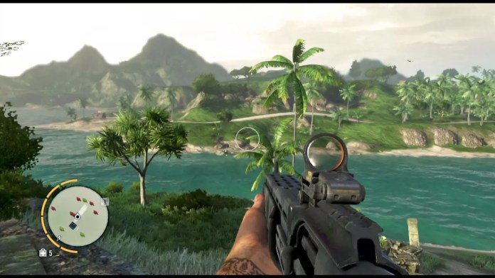 Panorama of Far Cry 3 Open World.