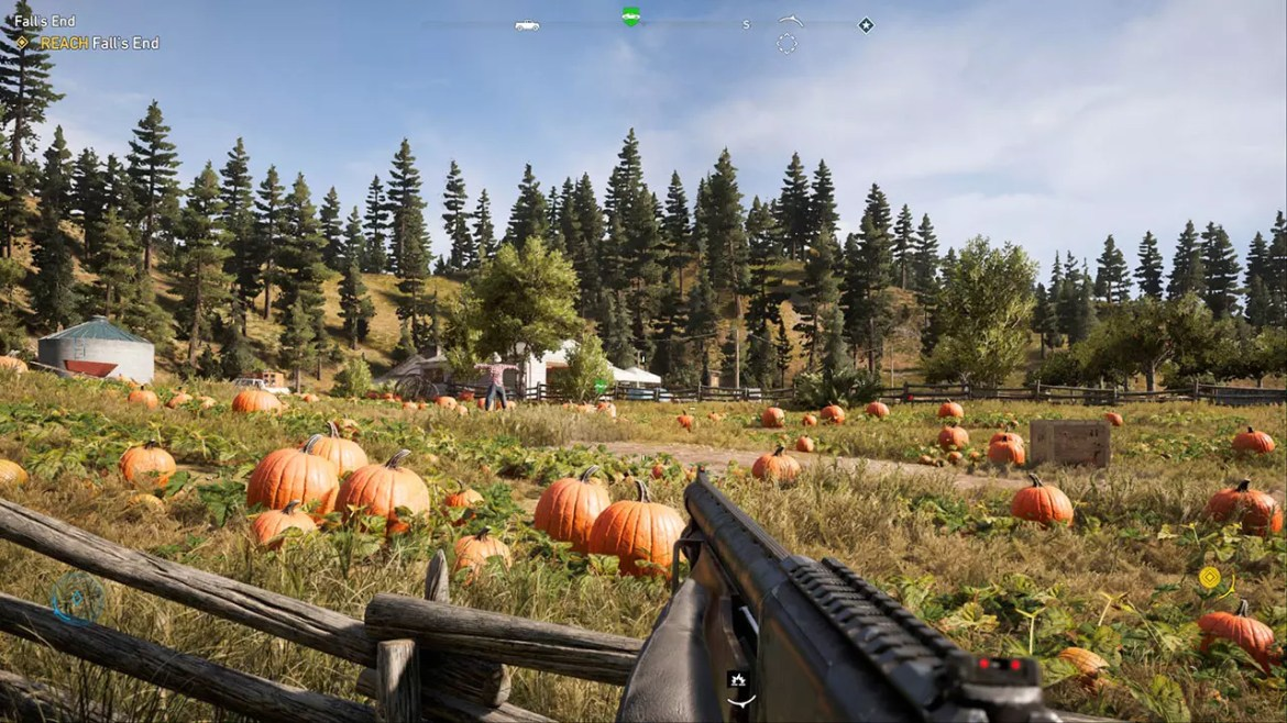 Far Cry 5 Pumpkin Farm.