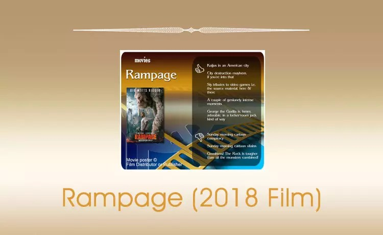 Rampage (2018) Movie Review
