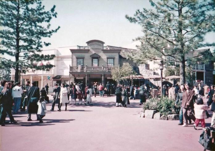 Travelling alone in Japan in 1998 - Tokyo Disneyland.