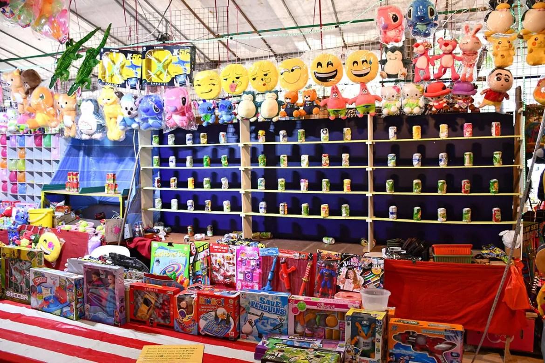 Geylang Serai Bazaar 2018 Game Stall and Prizes