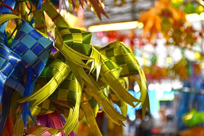 Geylang Serai Bazaar 2018 Ketupat Decorations