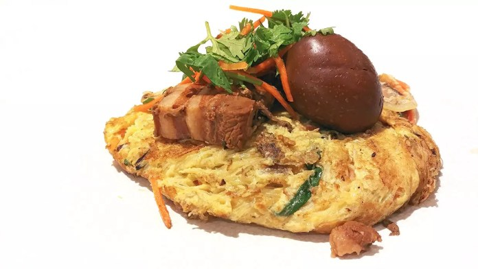 Typhoon Café Pan-seared Bee Hoon Pancake