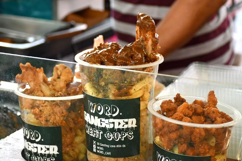 Word Gangster Meat Cups at Geylang Serai Ramadan Bazaar 2018.