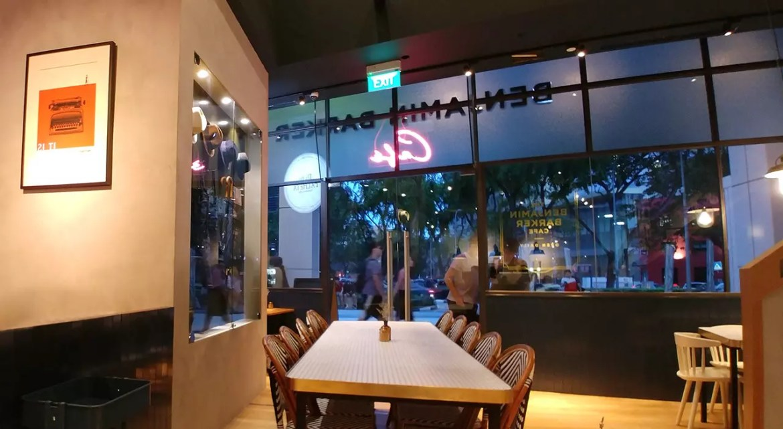 Benjamin Barker Café Cineleisure Interior