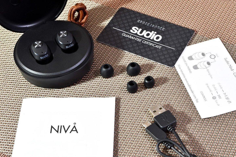 Sudio Nivå True Wireless Earphones Box Contents