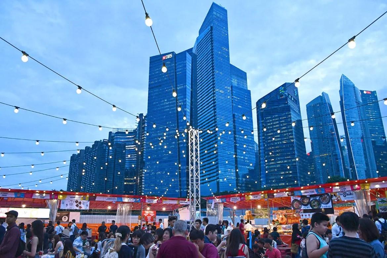 CMYK Event Singapore Dining Area