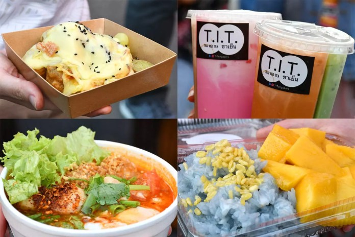 Hipster Food at CMYK Event, Singapore